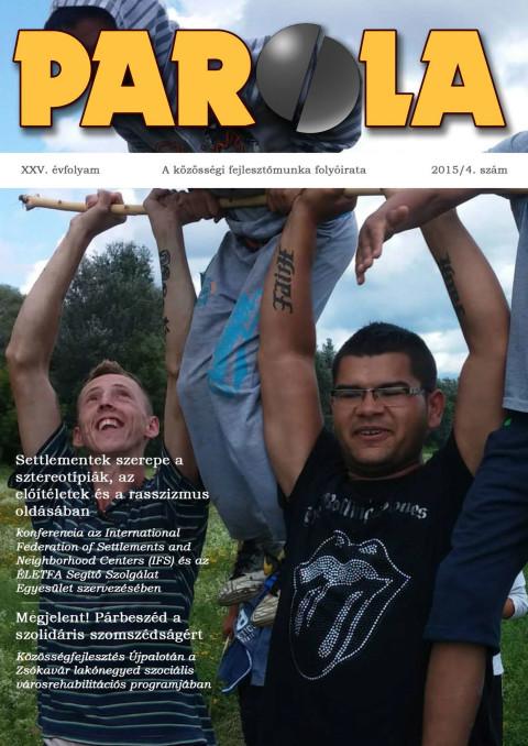 Parola 2015/4 – címlapon Olaszliszka