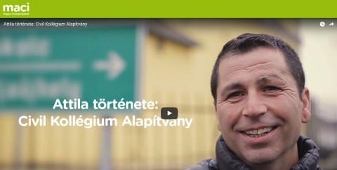 Közösségszervezés Olaszliszkán – A MACI bemutatja: Attila története