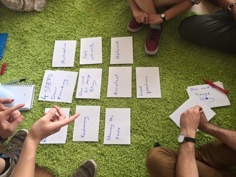 ECOS – kezdő közösségszervezők képzése Szlovákiában