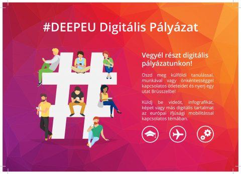 Mini pályázat – küldj digitális tartalmat és irány Brüsszel! + további nyeremények