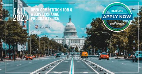 Pályázat amerikai-európai tapasztalatcsere- és képzési programra – 2020 ősz